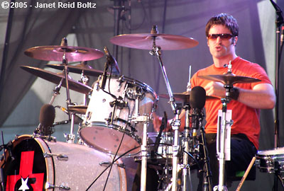 photo of Collective Soul's Ryan Hoyle copyright Janet Reid Boltz